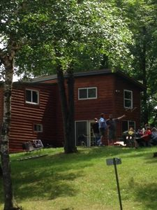 Photo for Spacious Cabin on Bay of Lake Nokomis