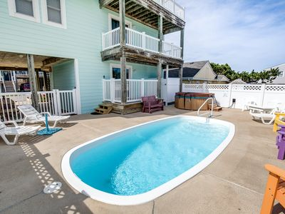 Photo for Just Chillin' | 632 ft from the beach | Private Pool, Hot Tub