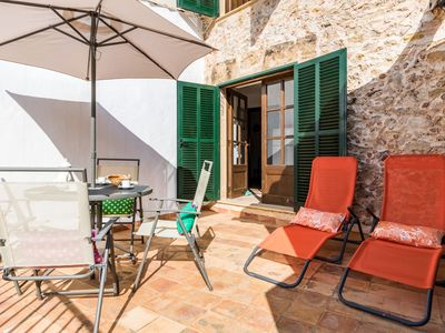 Photo for Large manor house in the historic center of Pollença, with three bedrooms.