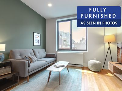 Photo for Smart East Village 1BR w/ Roofdeck + W/D near Union Sq by Blueground