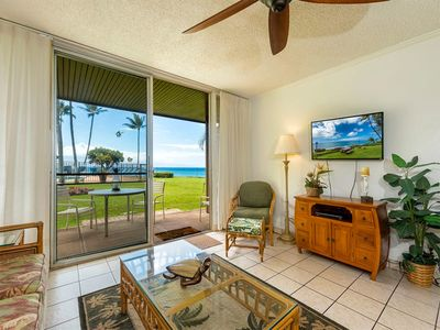 Photo for Love Maui Life! Epic Sunset View, Kitchen, CD, Flat Screen+WiFi–Polynesian Shores 106