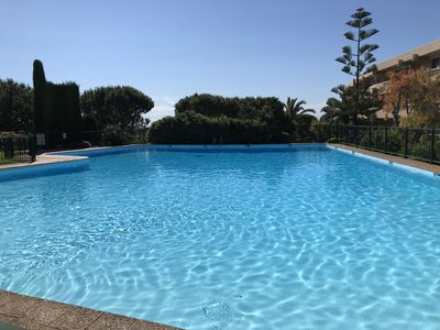 Photo for Large Studio in Luxurious Residence Le Ciel de Fabron, Pool, Quiet