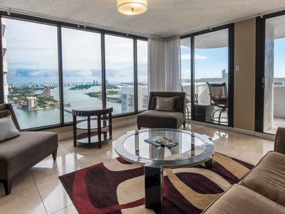 Photo for Grand 3745 | Downtown Miami | 2BR | City View + Balcony
