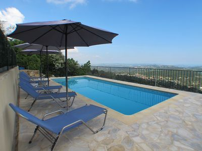 Photo for Comfortable Villa with Stunning Views and Private Pool