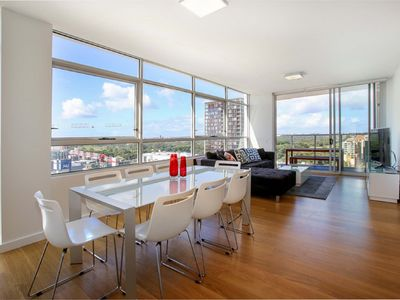 Photo for Modern and Spacious 3BR Zetland Apartment with Views over Moore Park