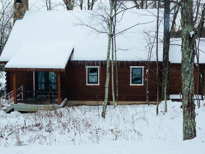 Photo for Mountain Cabin at Wintergreen. 4 bdrm/2 bath.  Sleeps 8, Member Passes!!