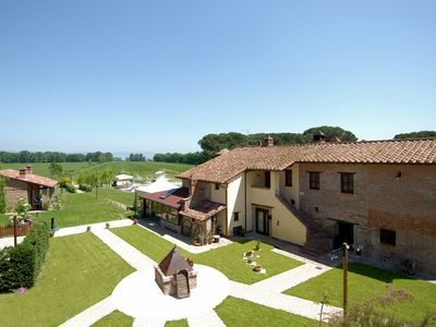 Photo for Large Farmhouse in Castiglione del Lago with Pool