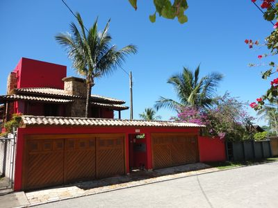 Photo for House with 5 suites close to the beach, pool, volleyball court, games room