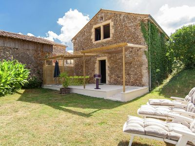 Photo for Relax and enjoy the French countryside in a house with an indoor jacuzzi.