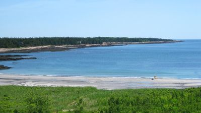 1820's Home on 200 acres w/ Sand Beach 5 mins from Acadia Nat'l Park at Schoodic