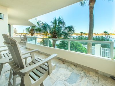 Photo for East Pass 104-2BR☀LAST MIN! Sep 22 to 24 $563 Total! ☀Harbor Views-Renovated!