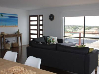 Photo for Beach house at Arno-spacious, modern & great views