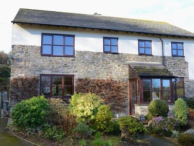 Photo for Stunning and  spacious pet friendly, 4 bed family cottage, nr Salcombe