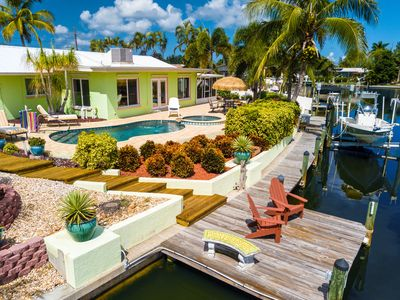 Photo for Spacious Canal Home w/ Kayaks & Bikes - Private Dock, Pool & Spa