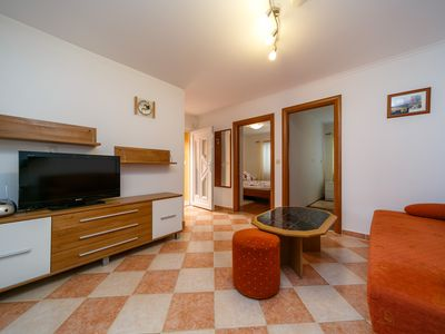 Photo for Holiday house Margareta with panoramic views and roof terrace on the island of Krk