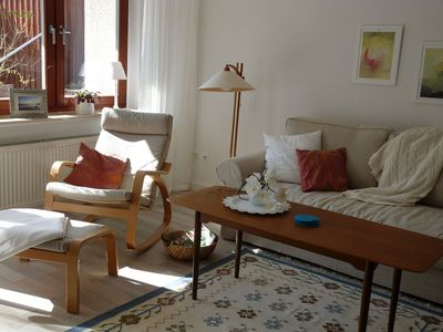 "Photo for Holiday apartment ""Living with castle view"" - Living with castle view - apartment"
