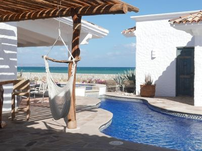 Photo for Cabo, East Cape, newly remodeled, 120' white beach on the Sea of Cortez