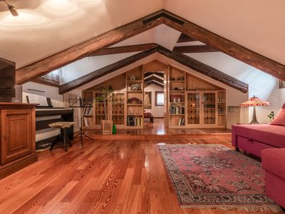 Photo for VIVALDI APARTMENT ON TWO LEVELS WITH ATTIC