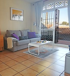 Photo for Fantastic little apartment in Verano Azul, Nerja