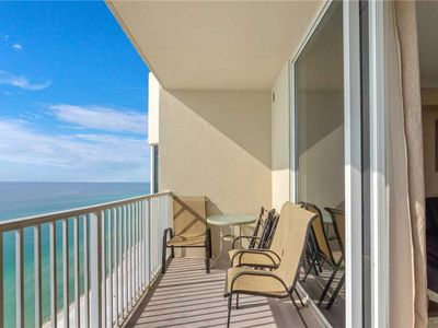 Photo for Tidewater 1802, 3 Bedrooms, Sleeps 10, Beachfront, Wi-Fi, Pool