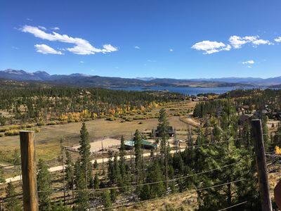 Photo for Secluded Mountain Home with Stunning Lake Views  - Minutes from Grand Lake