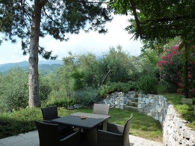 New Tuscan House In Olive Tree Hill, Salted Pool Sea View, WiFi,  Air Condition   Camaiore