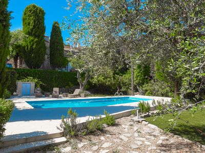 Photo for Stunning Villa in Private Garden Close to Mougins Village