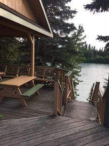 Photo for Fishing Condo located on the beautiful Kenai River in Soldotna, Alaska
