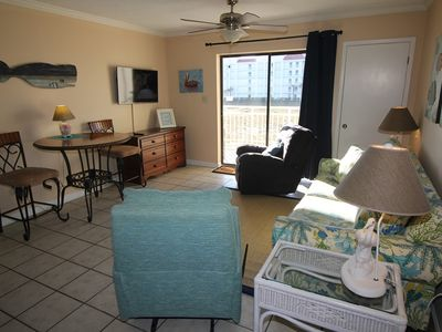 Photo for ALL SPRING RATES REDUCED BY 20%, BOOKING FAST. SB149 A BEAUTIFUL 2 BDRM 2 BA  SIDEVIEW. FOUR POOLS, TENNIS COURT, TIKI BAR, BBQ AREA Come and experience our Sugar White Sandy Beaches for yourself.