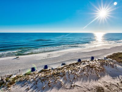 Photo for Beach Front Beautiful - Pelican Beach 803 - Best Views In Destin