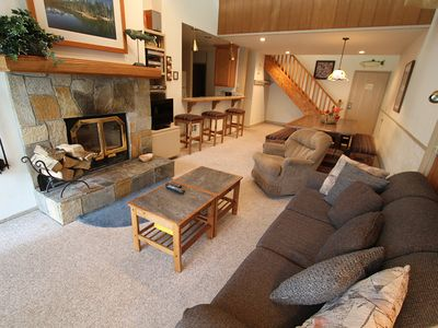 Photo for Rustic, Great Complex Amenities, Walk to Eagle Lodge