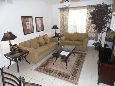 Photo for 5* resort Windsor Hills, 3 Bed condo, 2.5 miles from Disney,