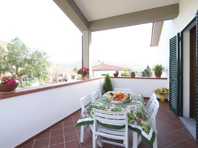 Photo for Well furnished apartment between Procchio and Marina di Campo