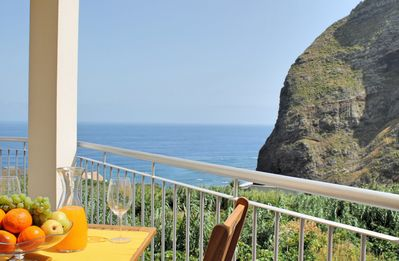 Photo for Overlooking the North coast & village, lovely house, sea views | Casa Vigia Mar