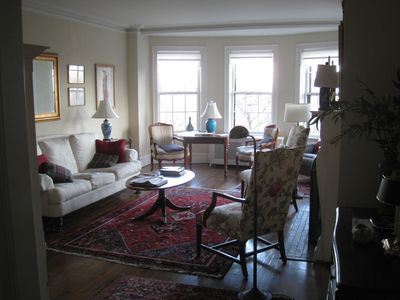 Photo for Classic Apartment in Prestigious 1920's Building on Lincoln Park, 3-Month Min.