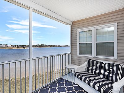 Photo for BB155: Great Bay Views! 4BR, 4BA Bethany Bay 3rd Fl Condo -  Golf, Pool, Tennis
