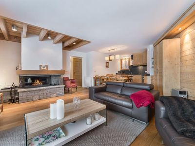 Photo for Aubépine 12 - Superb modern apartment , next to the town centre and Morel chair lift