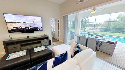 Photo for Windsor Hills 2nd Premium 5/5 Lake View Home w/S.Facing Pool-2 mi from Disney