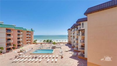 A Gulf Front 1 Bedroom/1 Bath in the desirable Beach Cottage building