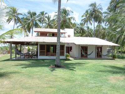 Photo for Contemporary beach house by the sea in Patacho Beach