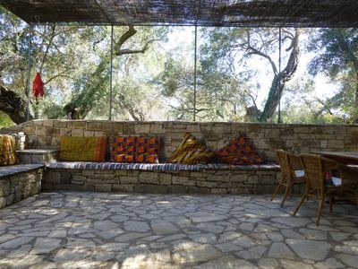 Photo for IRINI Big House, converted olive press tucked in a shady olive grove
