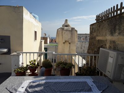 Photo for Holiday house in Centro Storico Vieste * Altstadtflair with sea view * newly renovated