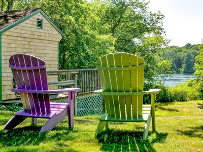 Photo for Historic Home on Bourne Pond – 4 Acres of Land, 10 Minutes to Beach