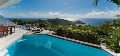 Villa Oceana  -  Ocean View - Located in  Fabulous Vitet with Private Pool