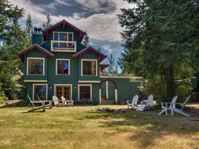 Photo for Lovely Waterfront Home with Hiking Trail to Beach- Family & Dog Friendly!