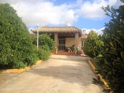 Photo for VILLA SEÑORA CARMEN IS A INDEPENDENT ONE-FAMILY VILLA ON A SINGLE PLANT