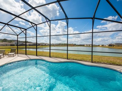 Photo for Gorgeous Lake View From Your Private Pool!