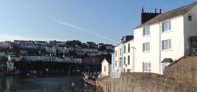 Photo for Commanding fantastic views across Brixham harbour and out to sea. Pet friendly.