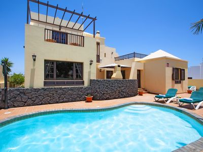 Photo for 4BR Villa Vacation Rental in Costa Teguise, Canarias