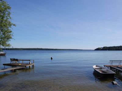 Photo for Holiday home Zislow am Plauer See for families with dog, WLAN - Holiday home Zislow am Plauer See